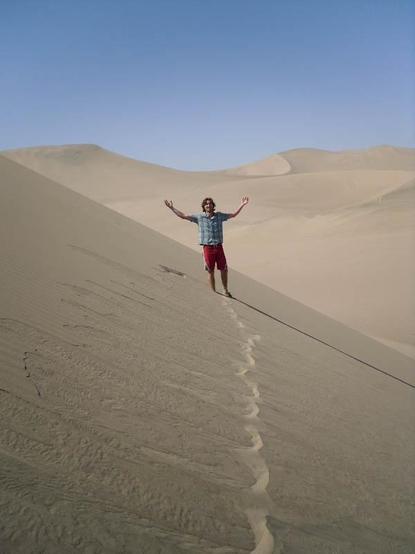 Photo from Huacachina, Peru