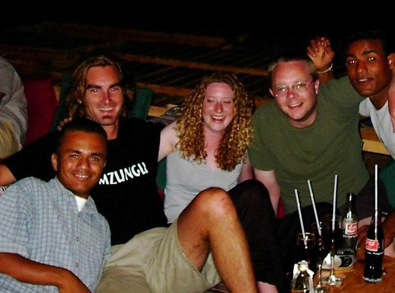 Chillin' at the Penguin in Dahab