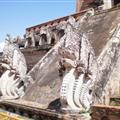 Ancient temple guards