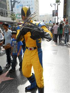 Our costumes cost about $200 each to put together approximately £150. Sup ordered the best Wolverine costume on the market with amazing realistic claws and ... & Hollyweird Boulevard! - Blogabond