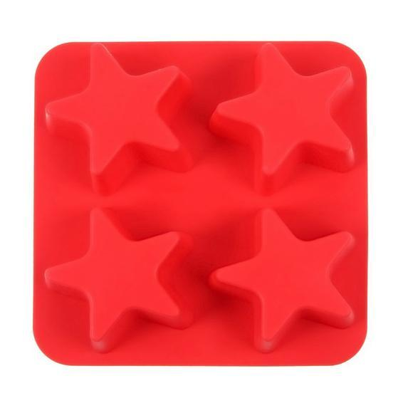 star silicone cube