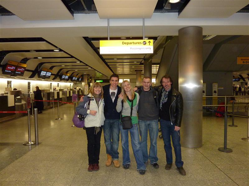 Departure Heathrow