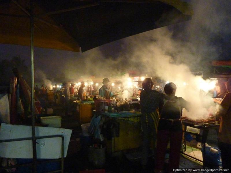 Kota Kinabalu - Night food stalls