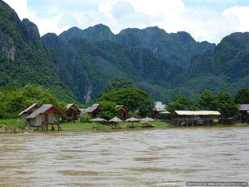 Vang Vieng - Nam Song view