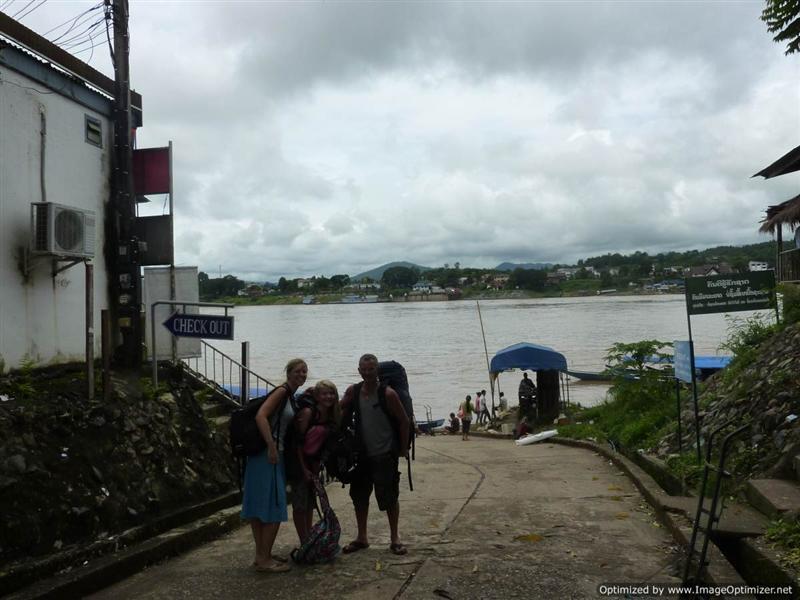 Houaysai - Lao/Thai border
