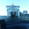 Inter-Island Ferry - Driving on!