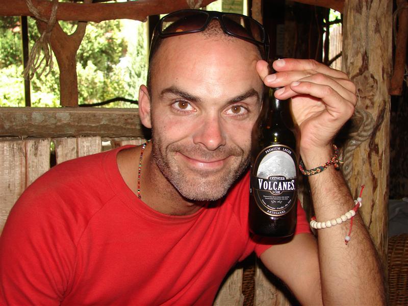 Post volcano volcano cerveza