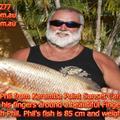 Fishing in Karumba Point Sunset Caravan Park Queensland Australia 001