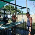 Fishing Cleaning Area - Karumba Point Sunset Caravan Park