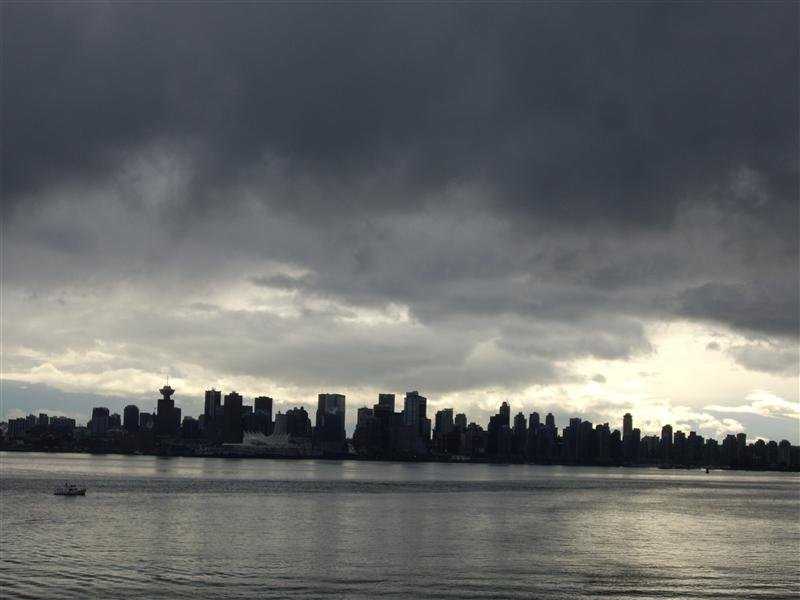 Vancouver, as seen from North Van
