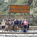 The start of the inca trail...Km 82
