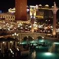 The venetian hotel, pretty cool at night