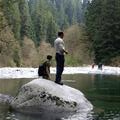 Lynn Canyon Park - Tom and Mark