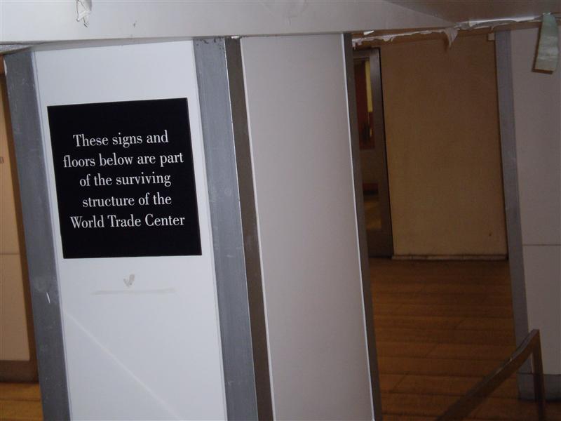 Basement of the WTC