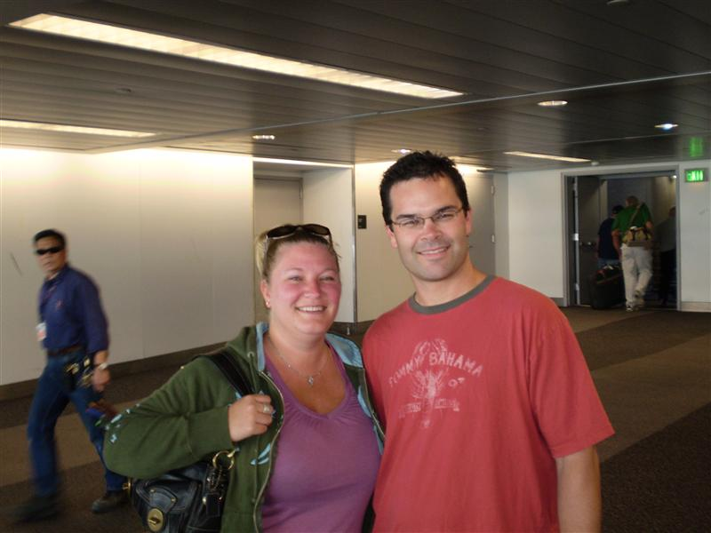 Lisa and Andy - heroically heroic saviours of lost and stupid Kiwi's