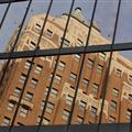 Reflection of Marine Building