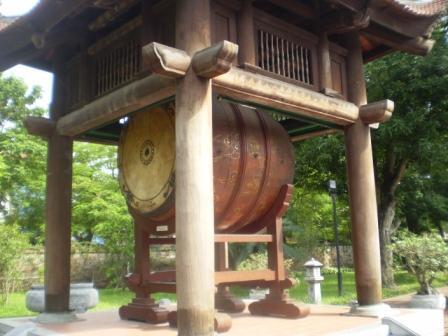 Wooden drum installed in 2000