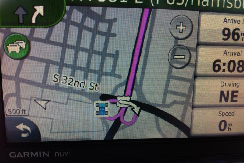 GPS Screen Shot