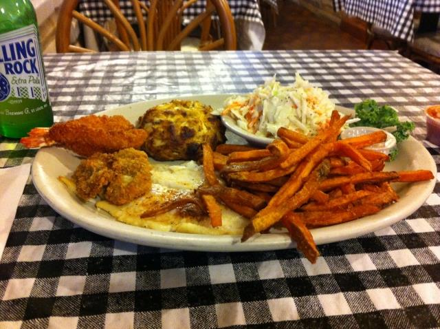 Combo Platter at Stoney Creek Inn