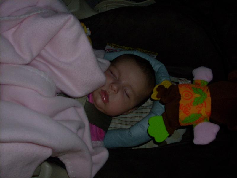 Sofia Sleeping