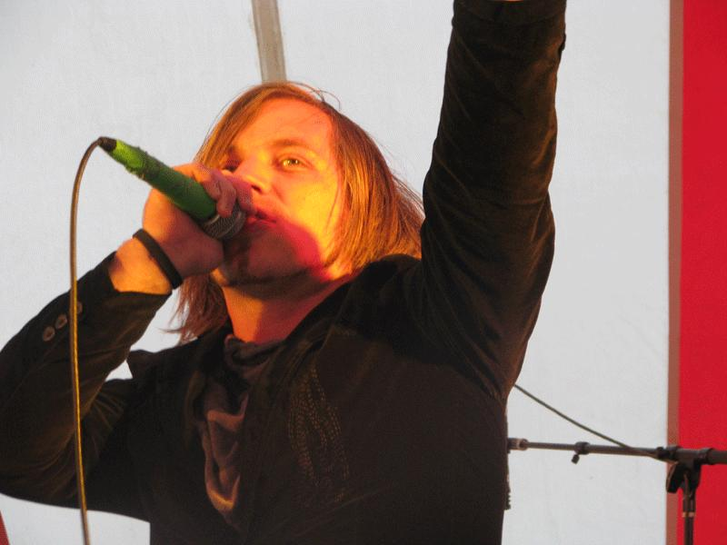 Justin Cordle at Cornerstone 2010