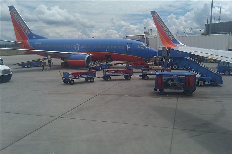 Flying Into Spokane, WA