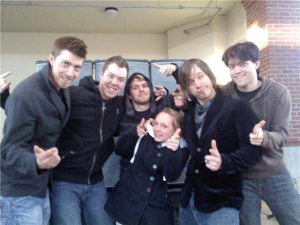 Photo from We As Human Tour/Show Blog, Spring 2010