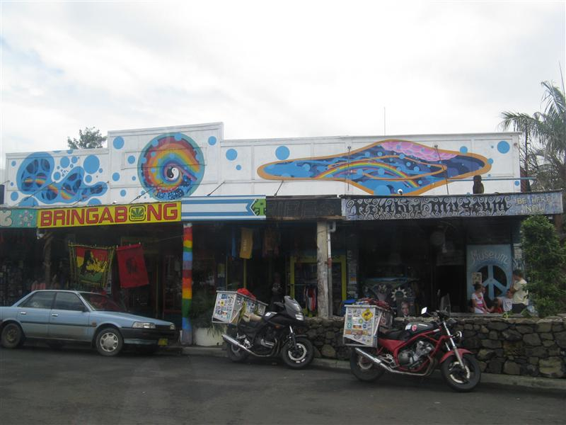 The strip in Nimbin... back to the seventies