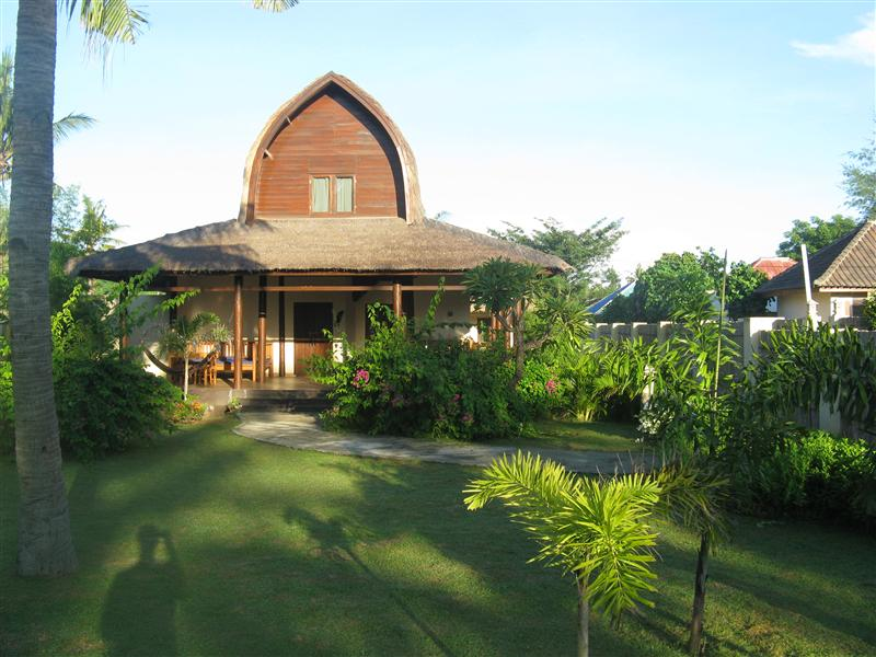 Coconut Dreams - our cottage for 8 days in Gili T.
