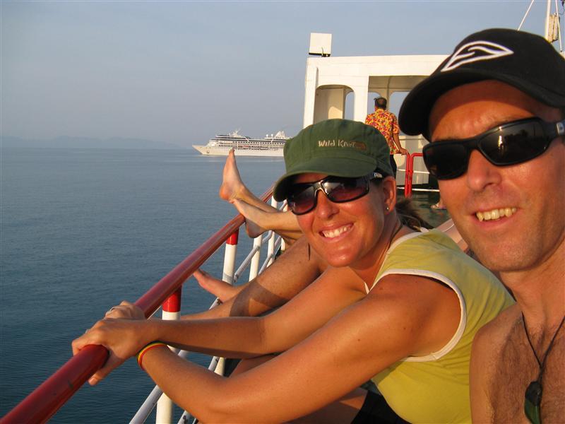 The ferry trip from Krabi to Koh Phangan
