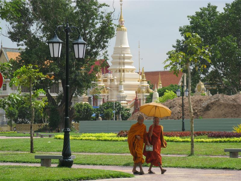 Photo from Cambodia: Light, Shadows and a Layer of Smog