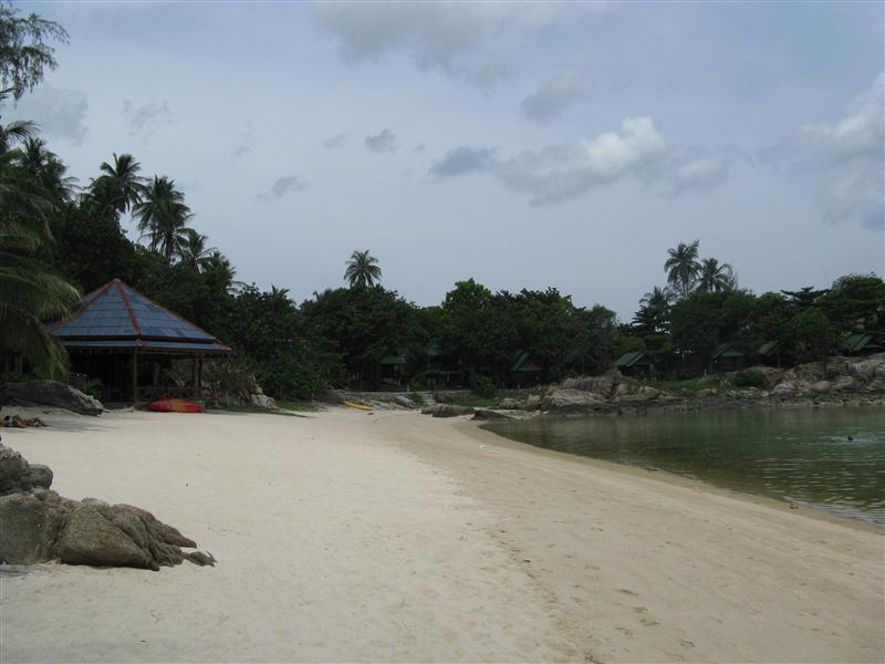 Views of the beachfront in Koh Phangan