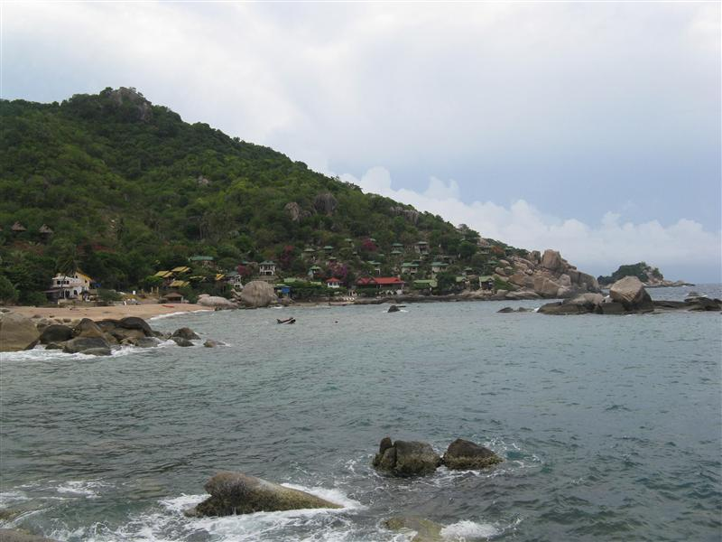 Views of our bay in Ko Tao