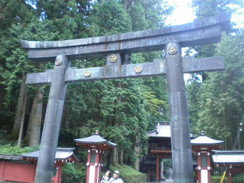 Futarasan-jinja torii