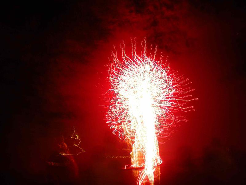 Sarugakyo fireworks