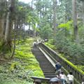Way to Ieyasu's tomb