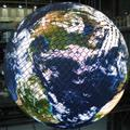 LCD globe