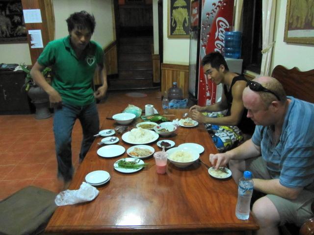 Dinner at GH