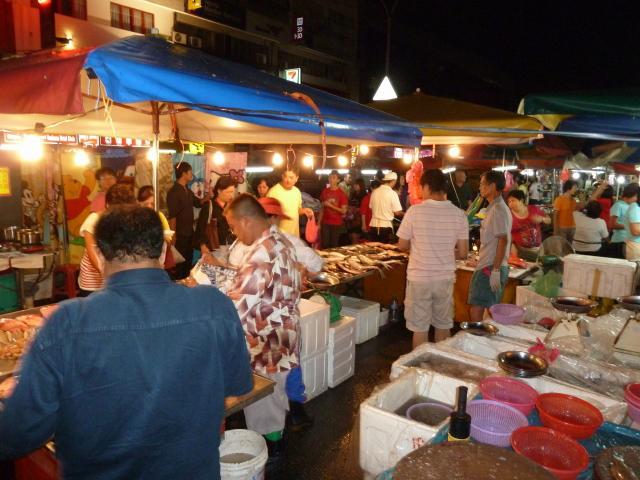 Night market in KL