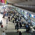 Mumbai Domestic Terminal at 5am
