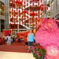 Malls all decorated for Chinese New Year
