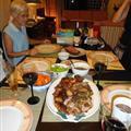 Chris' lamb roast dinner