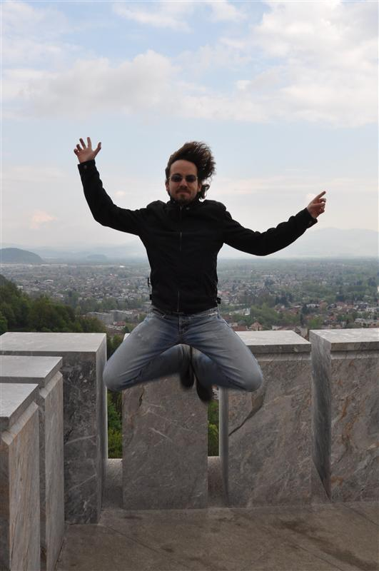 Wind Jumping in Ljubljana