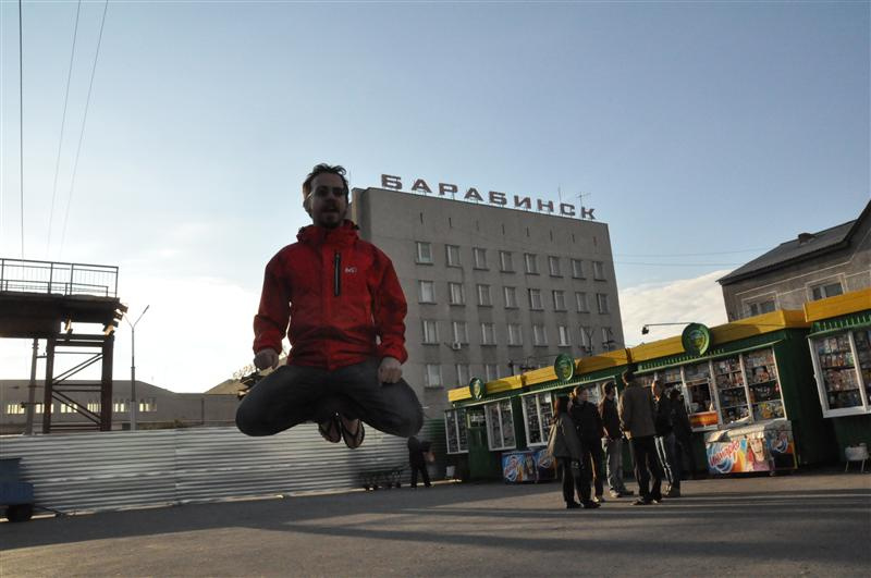 Jumping in Barabinsk