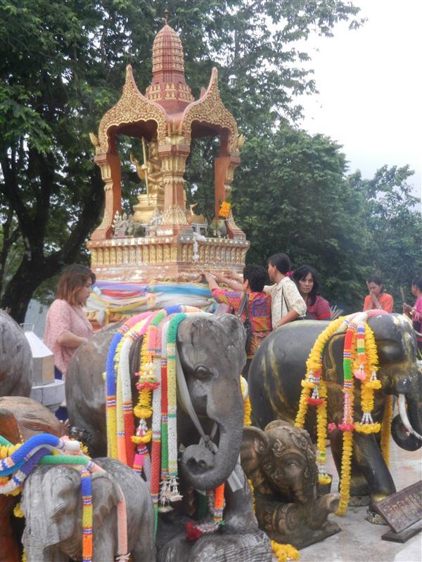 Buddha shrine at the south tip of Phuket