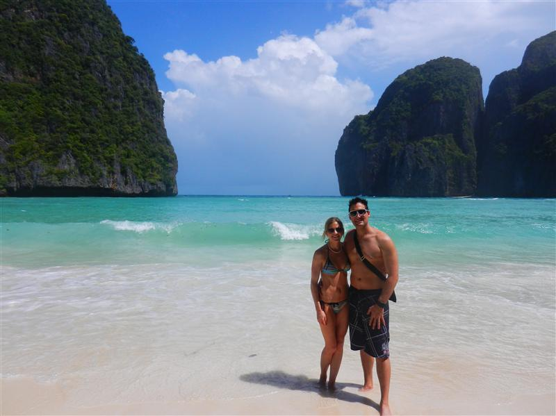 Maya Bay at Ko Phi Phi Lae