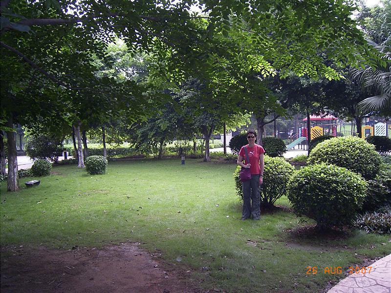 Park near our place