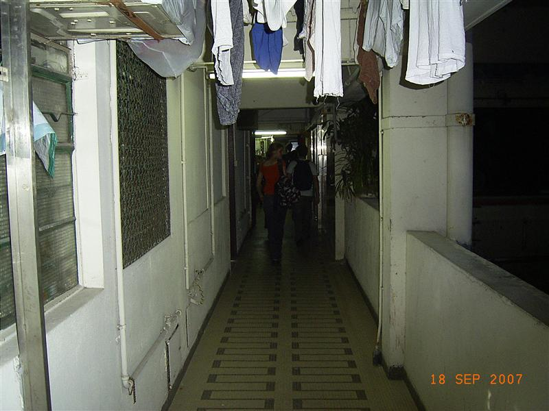 Hallway in the mansion