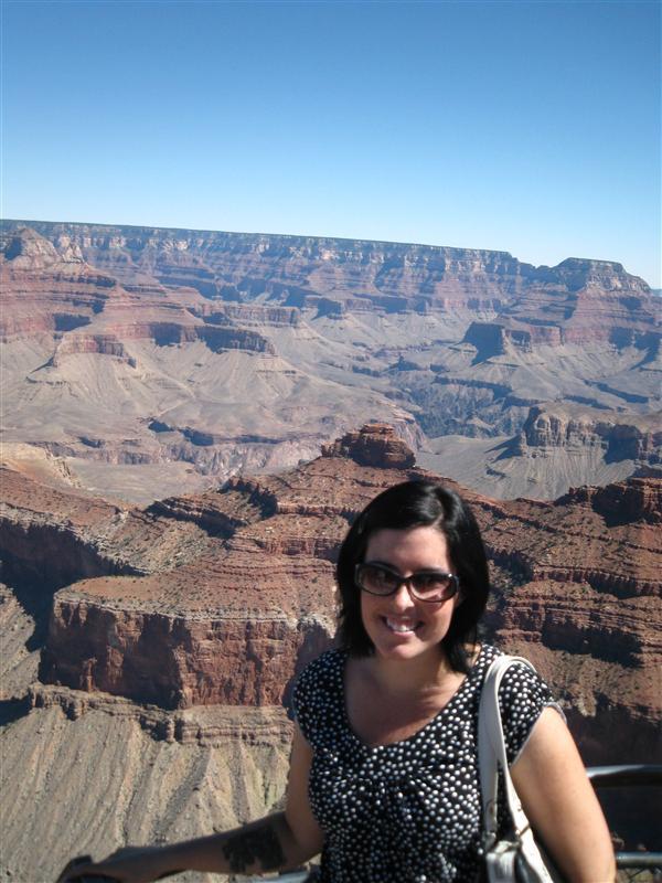 Kai at the Grand Canyon