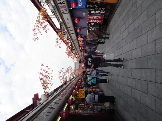 Temple shopping strip, Asakusa